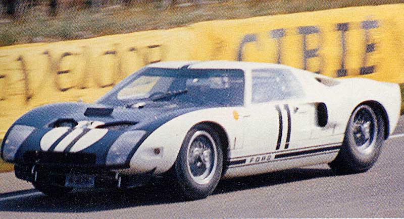 Ford Gt  Le Mans Winner In