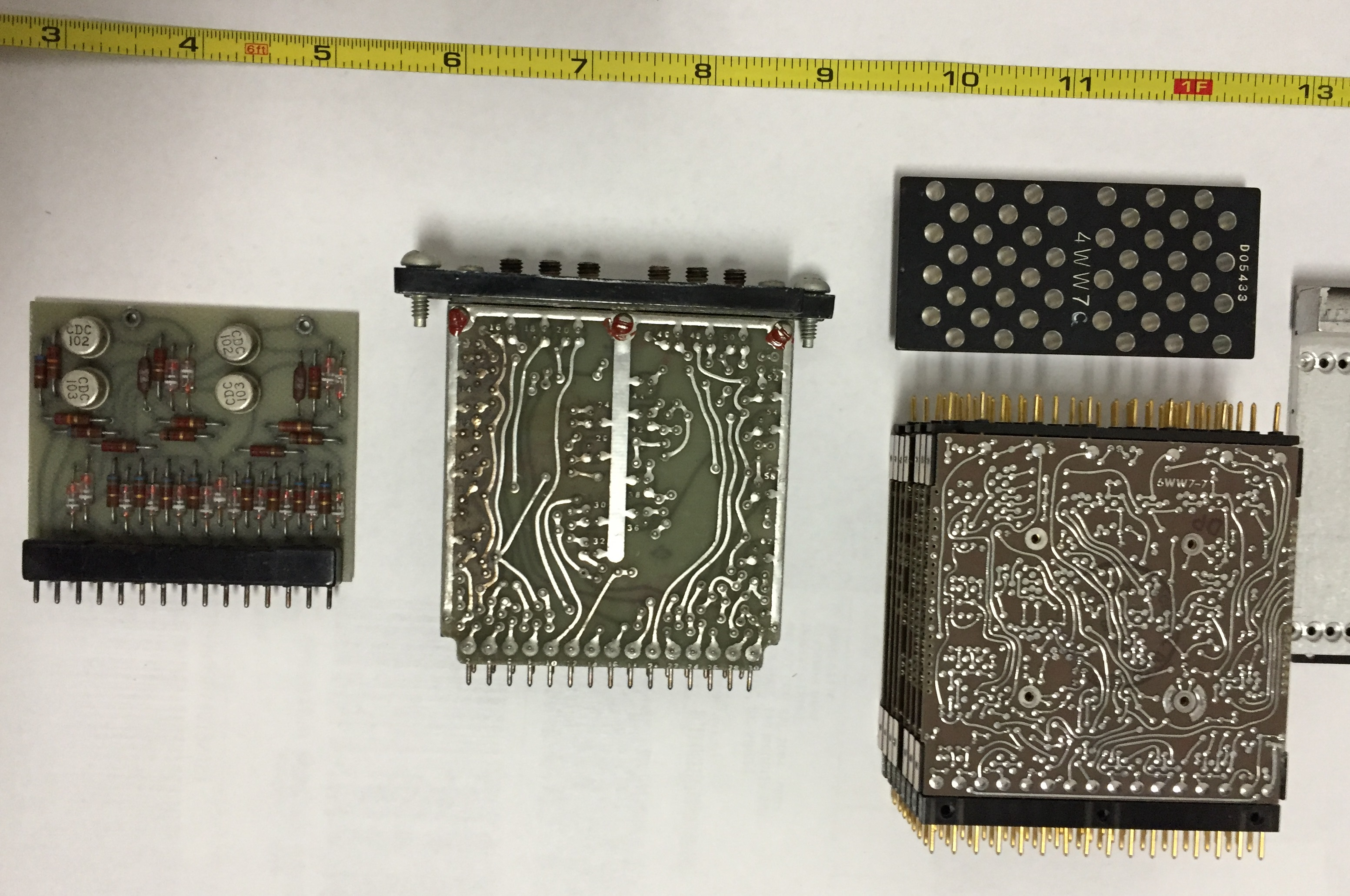 CDC circuit boards - top view